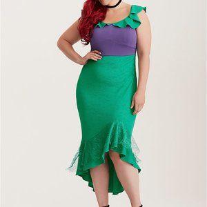 Torrid x Disney Ariel Little Mermaid Cosplay Dress